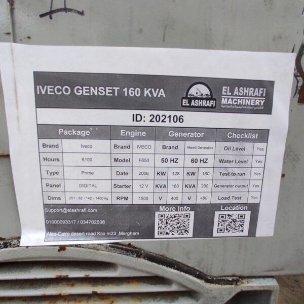 IVECO F650 GENSET