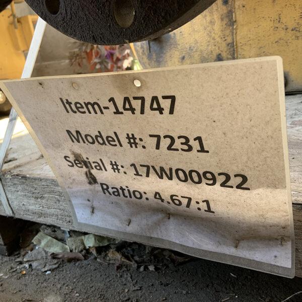 Cat 7231 Marine Gearbox