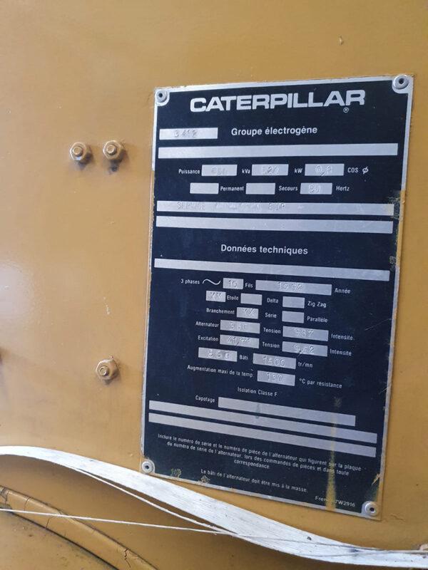 Caterpillar 3412 GENSET