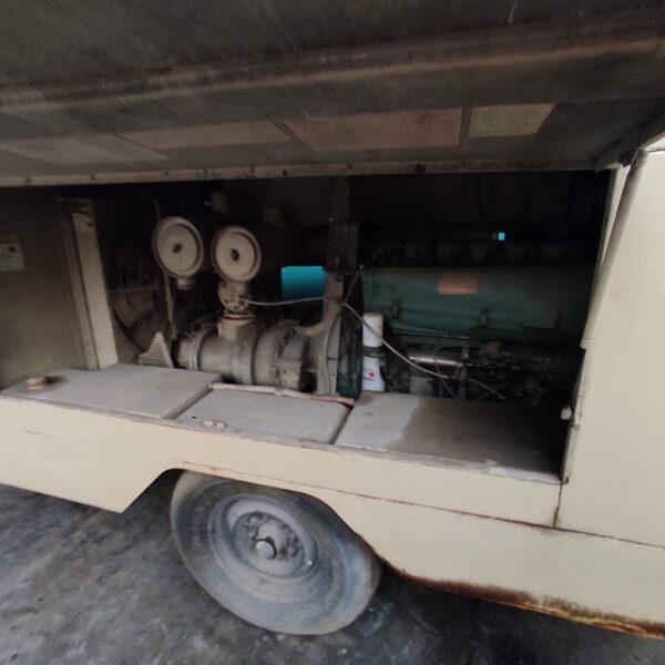 Ingersoll Rand Diesel Air Compressor